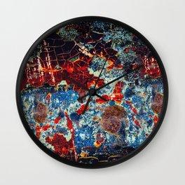Seven Metal Wall Clock