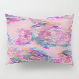 Ikat Glitch Pillow Sham