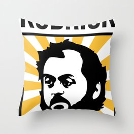 Stanley Kubrick Tribute Throw Pillow