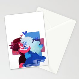 Ruby and Saphire Stationery Cards