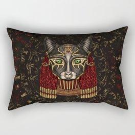 Bastet Egyptian Goddess Rectangular Pillow