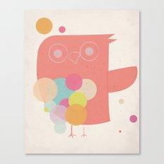 Owly Owl//One Canvas Print