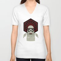 storm V-neck T-shirts featuring Storm by Joshua A. Biron