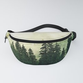 Misty Forest - Watercolor Fanny Pack