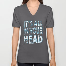 In Your Head Unisex V-Neck