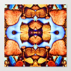 Internal Kaleidoscopic Daze- 23 Canvas Print
