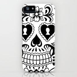 Sugar Skull Art, Sugar Skulls iPhone Case