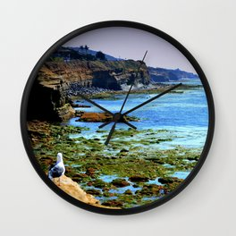 The world Is So Big And I Am So Small ~Southern California Wall Clock