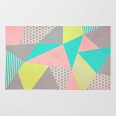 Geometric Pastel Rug