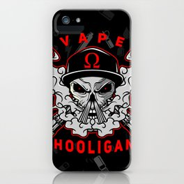 VAPE HOOLIGAN iPhone Case