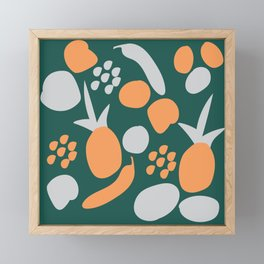 fruit garden Framed Mini Art Print