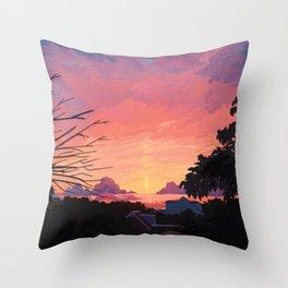 Late Summer Throw Pillow