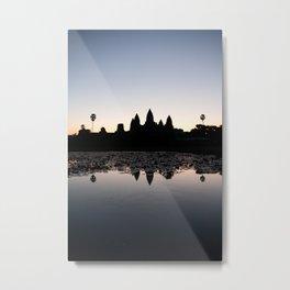 Sunrise at Angkor Wat Metal Print