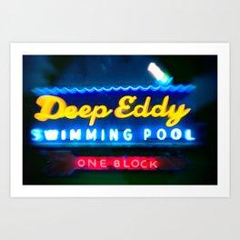 Deep Eddy Art Print