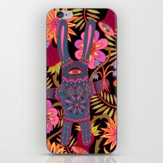 Rabbit in a Garden iPhone & iPod Skin