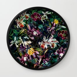 SECRET GARDEN II Wall Clock