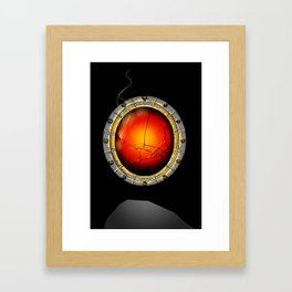 Songbird's Eye Framed Art Print