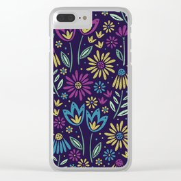 Bloomig Botanicals Clear iPhone Case