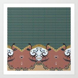 ss16 /// Handmade Arabesque II Art Print