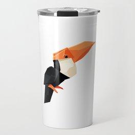 Origami Toucan Travel Mug