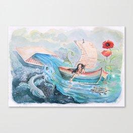Swell Canvas Print