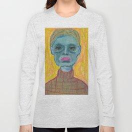 Blue face Long Sleeve T-shirt