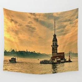 KIZ KULESİ Wall Tapestry
