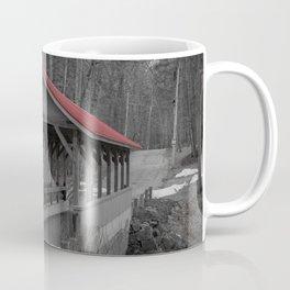 Old Stage Road Romantic Enclosure Covered Bridge Hampton New Hampshire Taylor River Coffee Mug