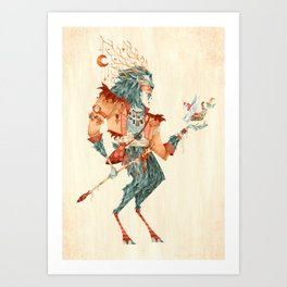 The Magical Faun Art Print