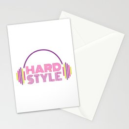 Hardstyle Equalizer | Electro Techno Party Stationery Cards