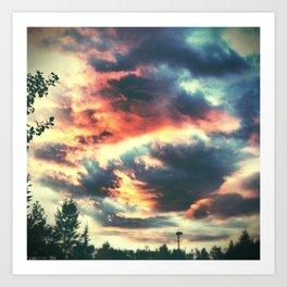 brilliant skies 2. Art Print