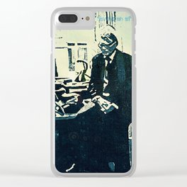 Manage a Trois (Office Drama) Clear iPhone Case