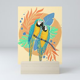 Tropical Birds Mini Art Print