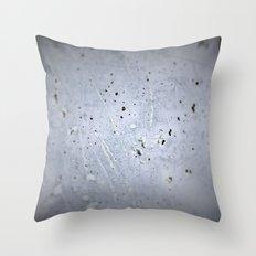 Splash White Throw Pillow