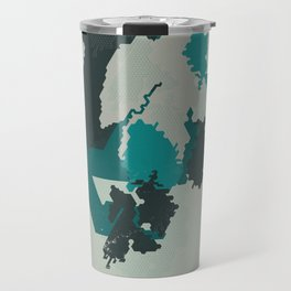 Geometric Mapping #4 • by Secret Peak Travel Mug