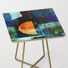 Half Moon Serenade Side Table