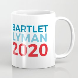 Jed Bartlet Josh Lyman 2020 / The West Wing Coffee Mug