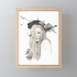 Hi Framed Mini Art Print
