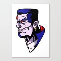 xmen Canvas Prints featuring x16 by jason st paul
