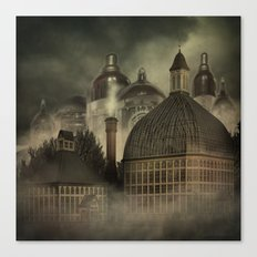 The Valveworks - A Steampunk Fantasy Canvas Print