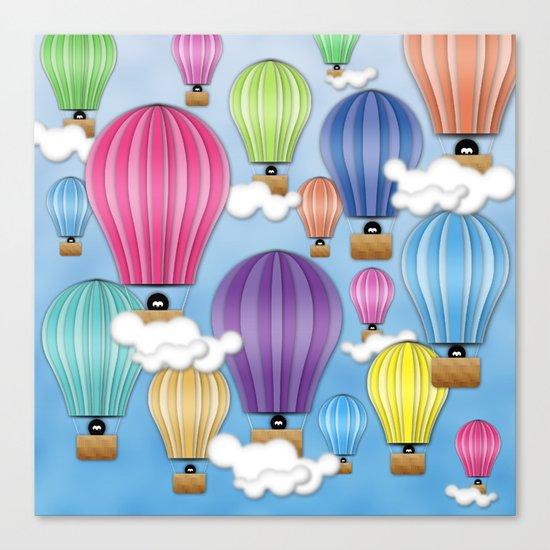 UP! UP! AND AWAAAAAAYYY!  Canvas Print