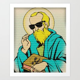 St. miKA Art Print