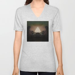 Abstract Environment 02: The Rorschach Test Unisex V-Neck