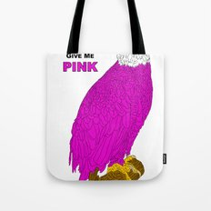 PINK LIBERTY EAGLE Tote Bag
