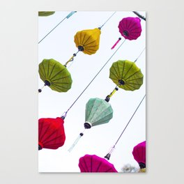 Lunar New Year Saigon Canvas Print