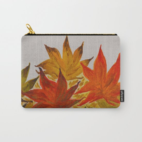 Autumn abstract watercolor 03 Carry-All Pouch