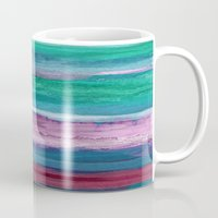 the strokes Mugs featuring Different Strokes by Steven Womack