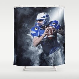 Football Fight Night Shower Curtain