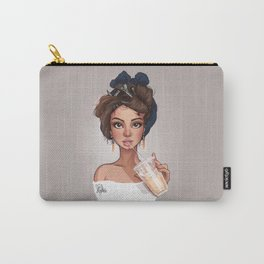 Iced White Chocolate Carry-All Pouch