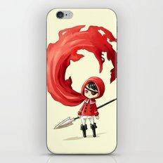 Red Cape iPhone & iPod Skin